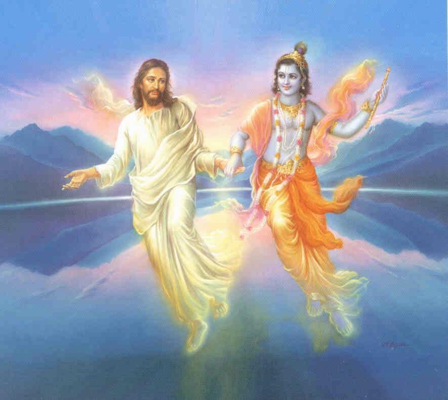 What if Krishna and Christ made love? - Q Spirit